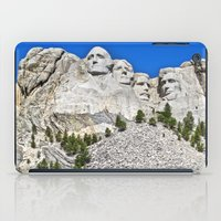 rushmore iPad Cases featuring Mount Rushmore by astultz23