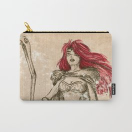Freya the Shaman Sketch from Nordic Warriors Carry-All Pouch