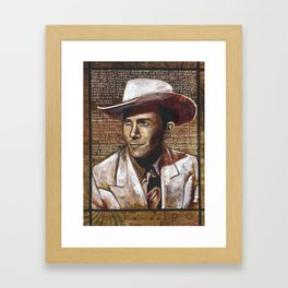Just Another Guy on a Lost Highway Framed Art Print