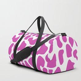 Pink dalmatian pattern Duffle Bag