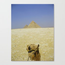Pyramid View Canvas Print