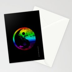 surfin v2 rainbow version Stationery Cards