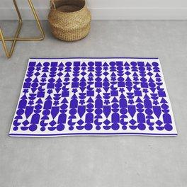 blue rhythm  Rug