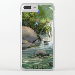 Rainforest Clear iPhone Case