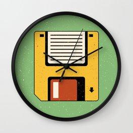 Floppy Disc Wall Clock