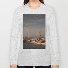 Horumersiel marina lower saxony Germany ( Northsea ) Long Sleeve T-shirt