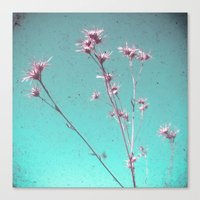 alone Canvas Prints featuring Alone by Cassia Beck