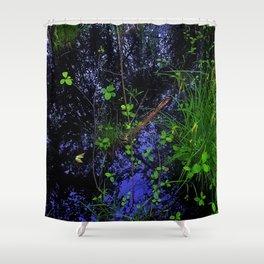 Floor of Sifton Bog Shower Curtain