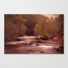 Blackberry Falls Waterscape Canvas Print