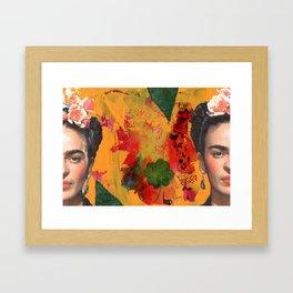 Tribute to Frida Kahlo #29 Framed Art Print