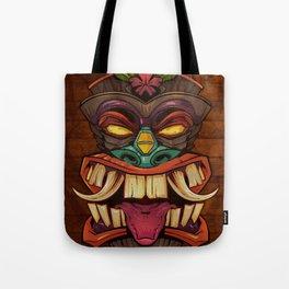Tiki Head Style 2 Tote Bag