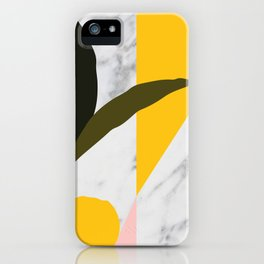Tropical Marble iPhone Case
