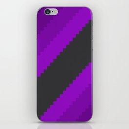 Pixel Grape Juice Dreams - Purple iPhone Skin