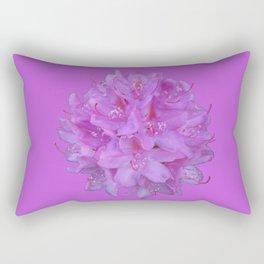 Rhododendron Bouquet 2 Rectangular Pillow