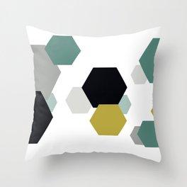 Geometric Shapes. Throw Pillow