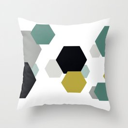 Geometric Shapes. Throw Pillow