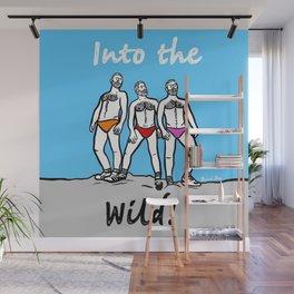 Beard Boy: Into the wild Wall Mural