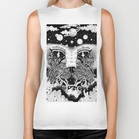 universe Biker Tanks featuring UNIVERSE by • PASXALY •