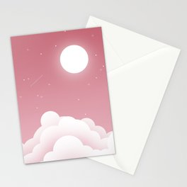 Starry Sky Stationery Cards