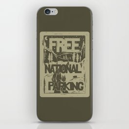PRKNG iPhone Skin