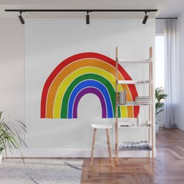 Oh, all the colors of the rainbow Wall Mural