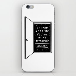 Alternate Reality iPhone Skin