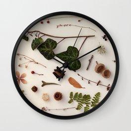 Botanic Party 03 Wall Clock