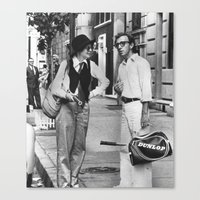 annie hall Canvas Prints featuring ANNIE HALL by VAGABOND