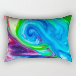 Technicolor  Rectangular Pillow