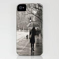 New York City - Rain iPhone (4, 4s) Slim Case