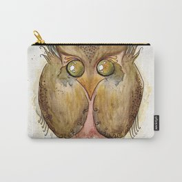 Vaguely Disturbing Owl Carry-All Pouch