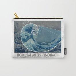Hokusai Meets Fibonacci, Golden Ratio #2 Carry-All Pouch
