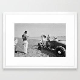 Pendine Sands 13 Framed Art Print