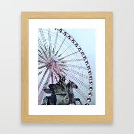 Paris Street Style No. 5 Framed Art Print