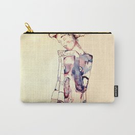 Purple Lady Carry-All Pouch