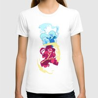airbender T-shirts featuring Steven Universe x Avatar The Last Airbender by Matereya