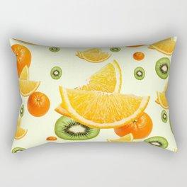 TROPICAL KIWI-ORANGES KITCHEN ART Rectangular Pillow