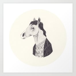 BoJack  Art Print