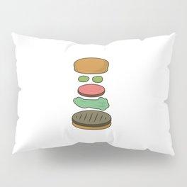 Bob's Burgers Hamburger Parts 2 Pillow Sham