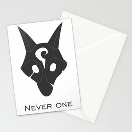 Kindred Wolf Stationery Cards