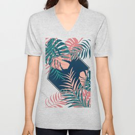 Tropical Dreams #society6 #decor #buyart Unisex V-Neck