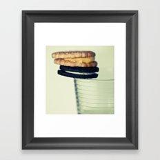 A Balanced Diet II Framed Art Print
