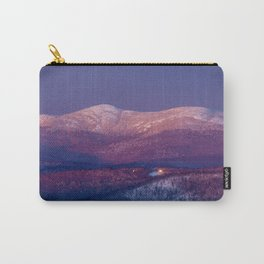 Purple Mountains Majesty Cardigan and Firescrew Carry-All Pouch