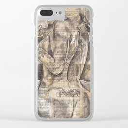 The Love Call Clear iPhone Case