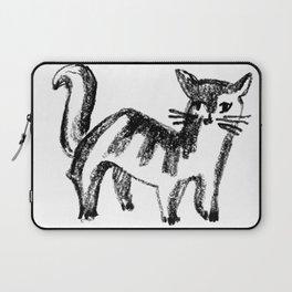 Striped Cat Laptop Sleeve