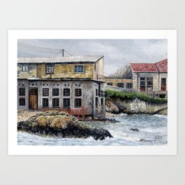 Tabakaria Buildings, Chania, Crete Art Print