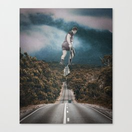 Gym guy Canvas Print
