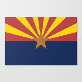 Flag of Arizona Canvas Print