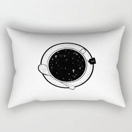 Storm in a tea cup Rectangular Pillow