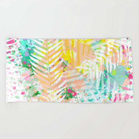 Tropical Juice Beach Towel